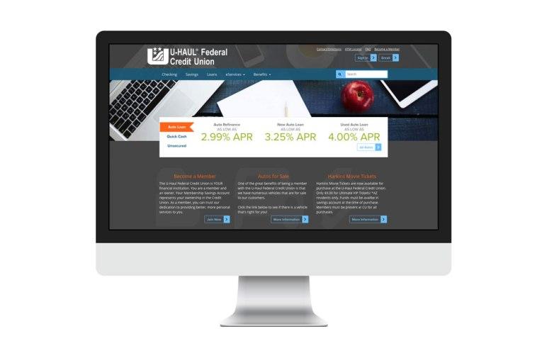 U Haul Federal Credit Union Smc Web Designs